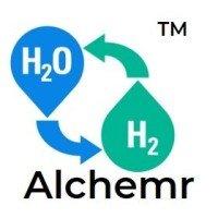 Alchemr logo (converts H2O to H2)