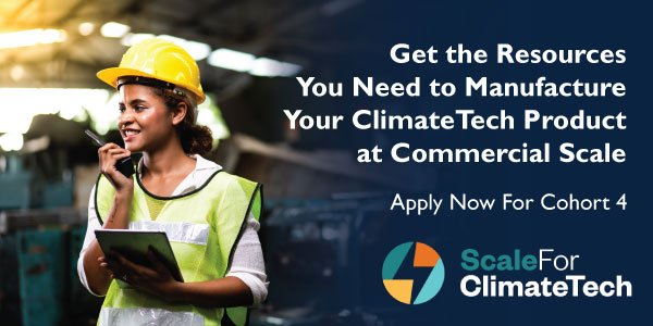 Apply For Scale For ClimateTech